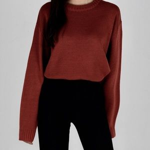 Sweaters - Basic Unisex Crewneck Sweeter from 365Basic